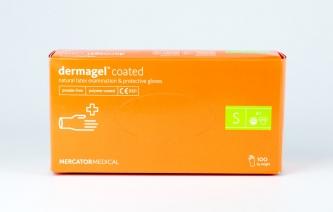 Rękawiczki jednorazowe lateksowe – DERMAGEL COATED