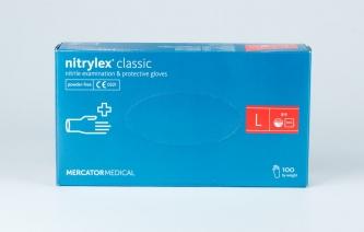 Rękawice jednorazowe nitrylowe – NITRYLEX CLASSIC - rozmiar L