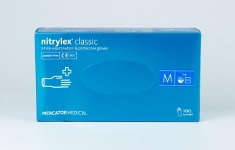 Rękawice jednorazowe nitrylowe – NITRYLEX CLASSIC - rozmiar M