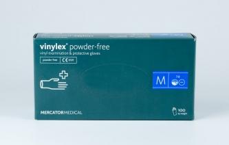 Rękawice jednorazowe winylowe - VINYLEX POWDER FREE - rozmiar M