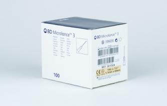 Igły iniekcyjne jednorazowe BD Microlance 3 - rozmiar 1,1x40