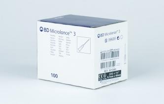 Igły iniekcyjne jednorazowe BD Microlance 3 - rozmiar 0,7x40