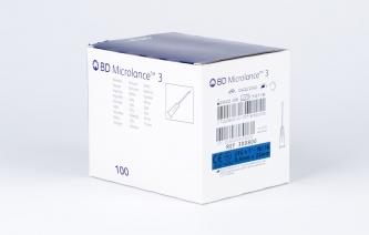 Igły iniekcyjne jednorazowe BD Microlance 3 - rozmiar 0,6x25