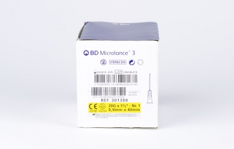 Igły iniekcyjne jednorazowe BD Microlance 3 - rozmiar 0,9x40