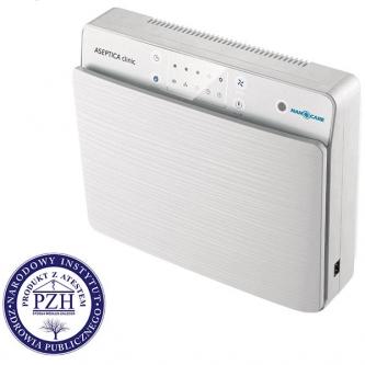 ASEPTICA clinic - oczyszczacz powietrza