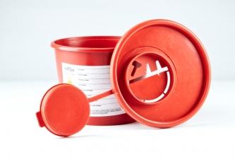 Pojemnik na odpady medyczne 0,5 - 0,8l