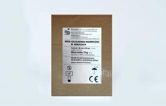 Lignina, wata celulozowa higieniczna w arkuszach